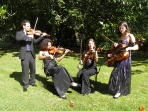 Quatuor Sésame - décembre 2014 - ©J.LePape-K.Labarry